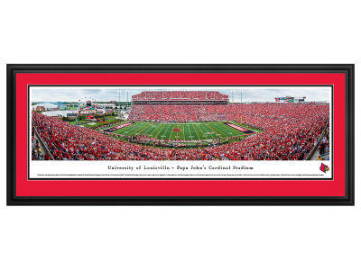 Louisville Cardinals Deluxe Framed Panorama