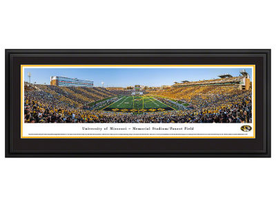 Missouri Tigers Deluxe Framed Panorama