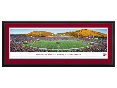Montana Grizzlies Deluxe Framed Panorama