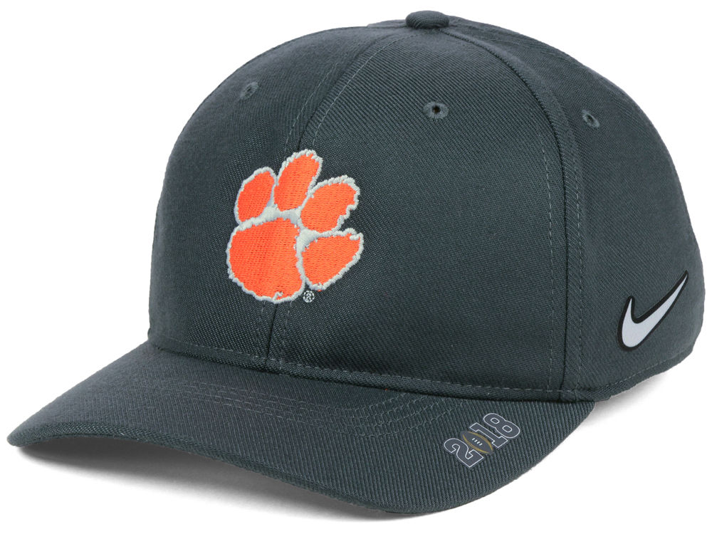 huge selection of e5575 8df3b ... uk clemson tigers nike 2018 ncaa college football playoff bowl cap  b48bd eed22