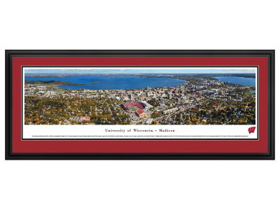 Wisconsin Badgers Deluxe Framed Panorama