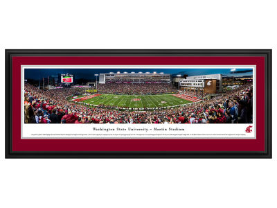 Washington State Cougars Deluxe Framed Panorama