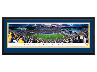 West Virginia Mountaineers Deluxe Framed Panorama