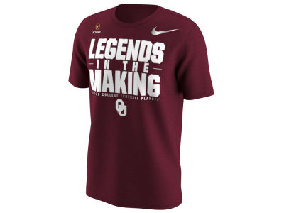 Oklahoma Sooners Nike 2018 NCAA Men's College Football Playoff Bound T-Shirt