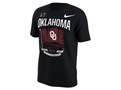 Oklahoma Sooners Nike 2018 NCAA Men's College Football Playoff Flag T-Shirt
