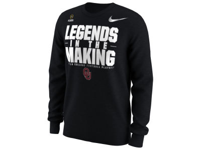 Oklahoma Sooners Nike 2018 NCAA Men's College Football Playoff Bound Long Sleeve T-Shirt