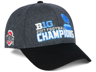 Ohio State Buckeyes Top of the World 2017 NCAA Big 10 Football Champ Cap