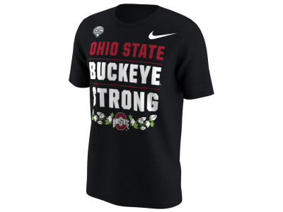 Ohio State Buckeyes Nike 2018 NCAA Men's Bound Verbiage T-Shirt