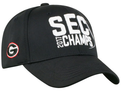 Georgia Bulldogs Top of the World 2017 NCAA SEC Football Champ Cap