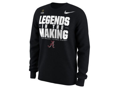 Alabama Crimson Tide Nike 2018 NCAA Men's College Football Playoff Bound Long Sleeve T-Shirt