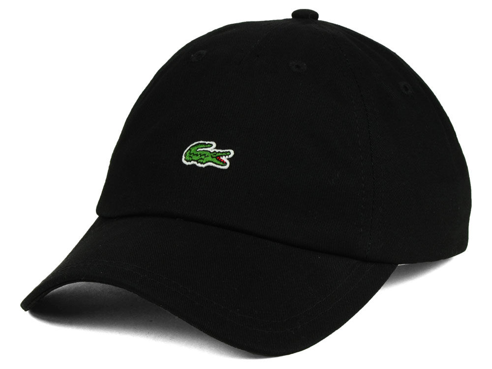 Lacoste Small Croc Dad Hat 0b6eef49a83