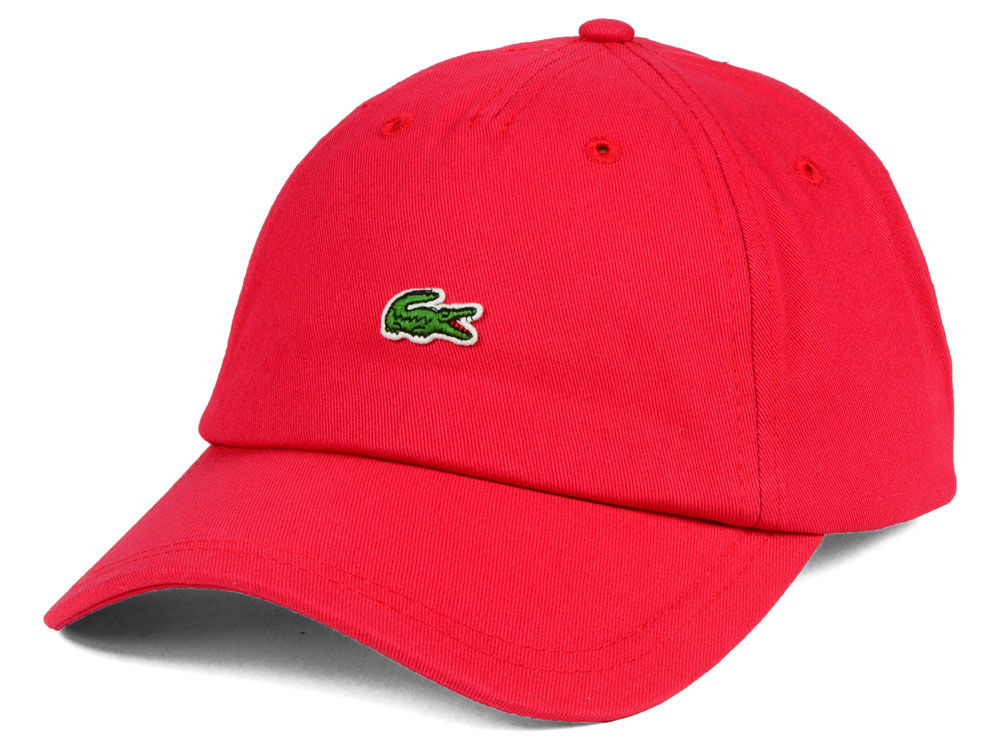 9ad90bc48fe Lacoste Small Croc Dad Hat