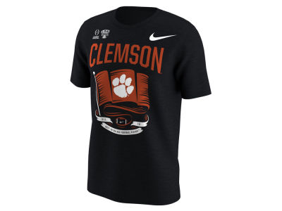 Clemson Tigers Nike 2018 NCAA Men's College Football Playoff Flag T-Shirt