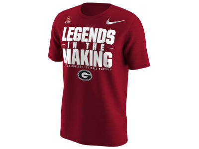 Georgia Bulldogs Nike 2018 NCAA Men's College Football Playoff Bound T-Shirt