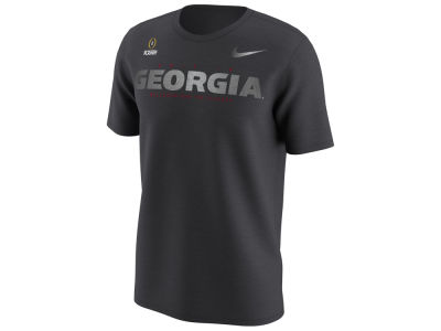 Georgia Bulldogs Nike 2018 NCAA Men's College Football Playoff Bound Wordmark T-Shirt