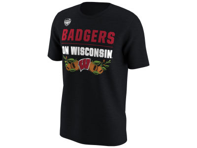 Wisconsin Badgers Nike 2018 NCAA Men's Bound Verbiage T-Shirt