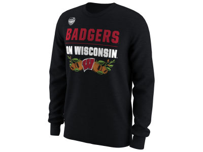Wisconsin Badgers Nike 2018 NCAA Men's Bowl Bound Verbiage Long Sleeve T-Shirt