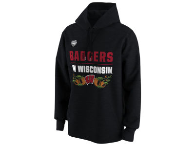 Wisconsin Badgers Nike 2018 NCAA Men's Elevated Bowl Bound Verbiage Hoodie
