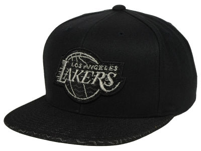 Los Angeles Lakers Mitchell & Ness NBA 3M Mesh Snapback Cap