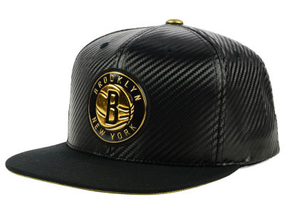 Brooklyn Nets Mitchell & Ness NBA Body Count Snapback Cap