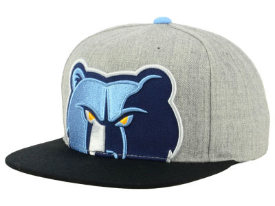 Memphis Grizzlies Mitchell & Ness NBA Cropped Heather Snapback Cap