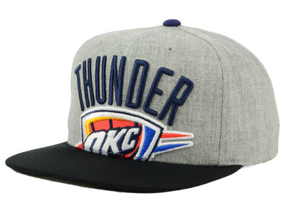 outlet store d984b 91e27 ... discount code for oklahoma city thunder mitchell ness nba cropped  heather snapback cap 46aea f25a8
