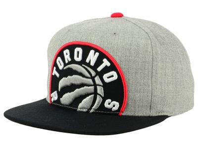 best website d046b 01721 Toronto Raptors Mitchell   Ness NBA Cropped Heather Snapback Cap