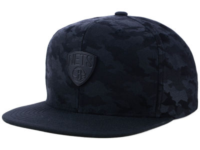 Brooklyn Nets Mitchell & Ness NBA Combat Snapback Cap