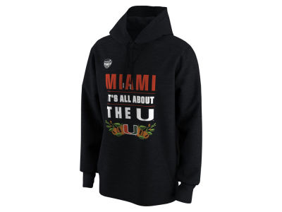 Miami Hurricanes Nike 2018 NCAA Men's Elevated Bowl Bound Verbiage Hoodie