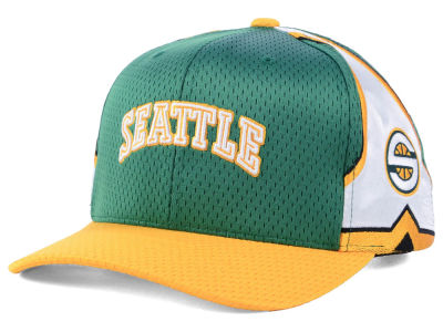 Seattle SuperSonics Mitchell & Ness NBA Jersey Hook & Loop Cap
