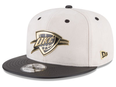 Oklahoma City Thunder New Era NBA Paul George Collection 9FIFTY Strapback Cap