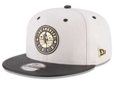 NBA Logo New Era NBA Paul George Collection 9FIFTY Strapback Cap