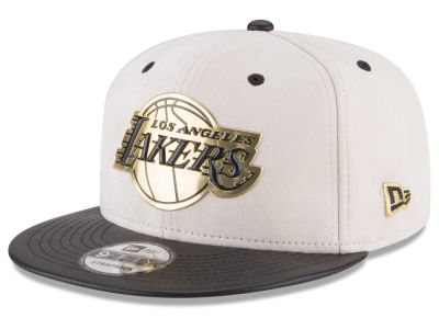 Los Angeles Lakers New Era NBA Paul George Collection 9FIFTY Strapback Cap