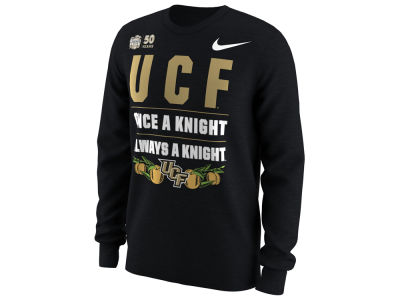 University of Central Florida Knights Nike 2018 NCAA Men's Bowl Bound Verbiage Long Sleeve T-Shirt