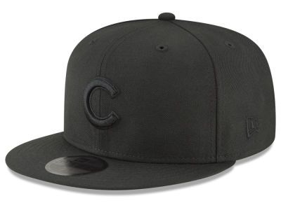 Chicago Cubs New Era MLB Blackout 59FIFTY Cap