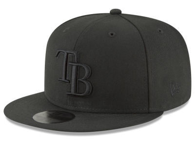 Tampa Bay Rays New Era MLB Blackout 59FIFTY Cap