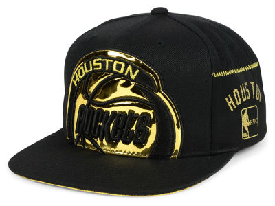 Houston Rockets Mitchell & Ness NBA Patent Cropped Snapback Cap