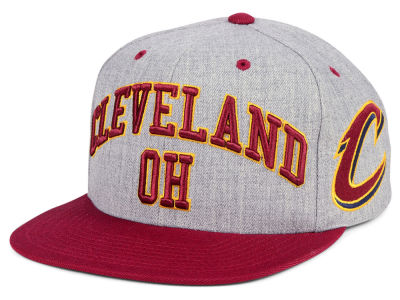 Cleveland Cavaliers Mitchell & Ness NBA Side Panel Cropped Snapback Cap