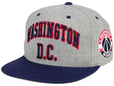 Washington Wizards Mitchell & Ness NBA Side Panel Cropped Snapback Cap