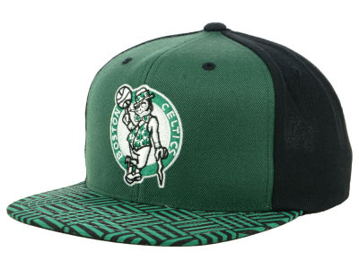 Boston Celtics Mitchell & Ness NBA Winning Team Snapback Cap