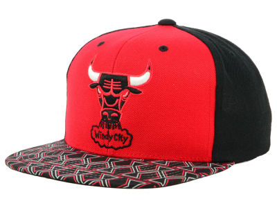 Chicago Bulls Mitchell & Ness NBA Winning Team Snapback Cap