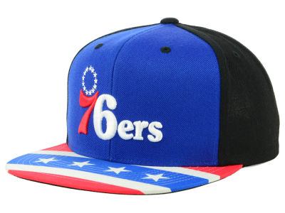 Philadelphia 76ers Mitchell & Ness NBA Winning Team Snapback Cap