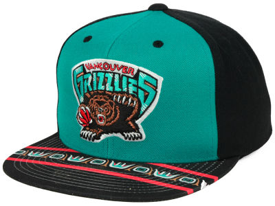 Vancouver Grizzlies Mitchell & Ness NBA Winning Team Snapback Cap