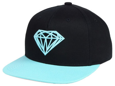 Diamond Brilliant 2-Tone Snapback Cap