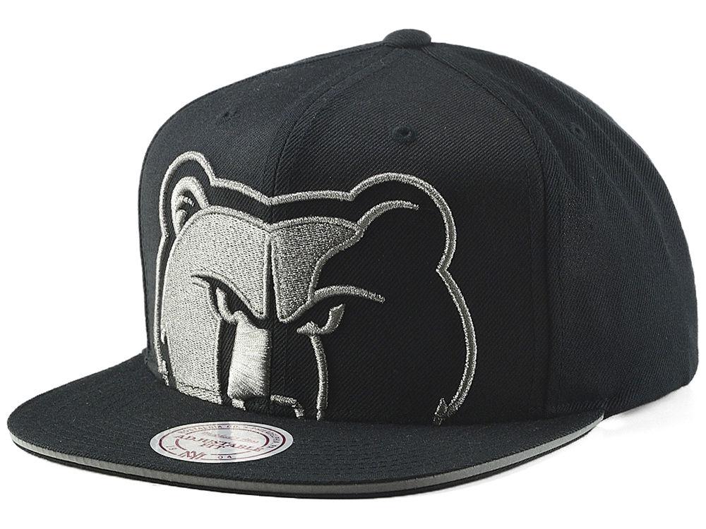 wholesale dealer b4075 1c5e5 ... france vancouver grizzlies mitchell ness nba cropped metallic snapback  cap lids 6c01d ce62a
