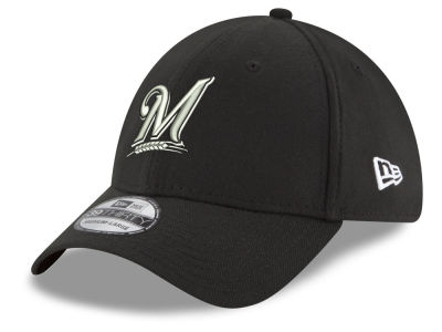 Milwaukee Brewers New Era MLB Youth Dub Classics 39THIRTY Cap