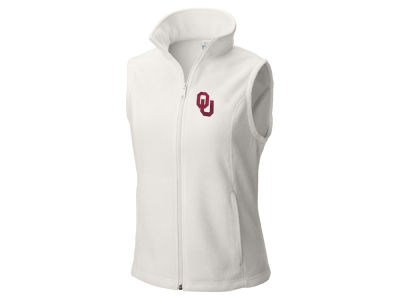 Oklahoma Sooners Columbia NCAA Women's Give & Go Two Fleece Vest
