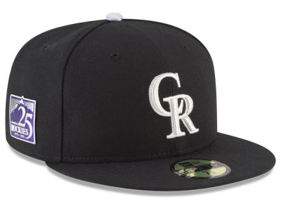Colorado Rockies New Era MLB Authentic Collection 25th Anniversary 59FIFTY Cap
