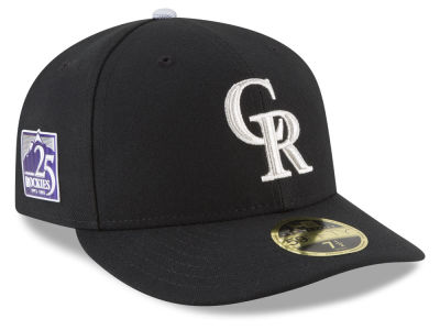 Colorado Rockies New Era MLB Authentic Collection 25th Anniversary Low Profile 59FIFTY Cap