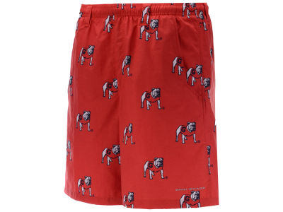 Georgia Bulldogs Columbia NCAA Men's Backcast Printed Short